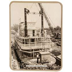 """""""Mark Twain"""" Construction Photo."""