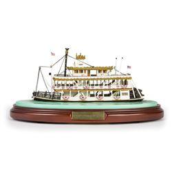 """Mark Twain Riverboat"" Scale Model by Olszewski."