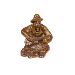 """Big Al """"Country Bear Jamboree"""" Ceramic Bank."""