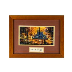 """""""Splash Mountain"""" Collin Campbell Signed Print."""