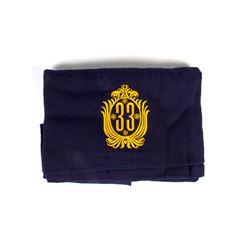 """Club 33"" Large Travel Blanket."