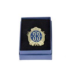 """Club 33"" Logo Pin."