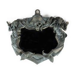 """Pirates of the Caribbean"" Custom-Made Plaque Mirror."