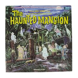 """Thurl Ravenscroft Signed """"Haunted Mansion"""" Record."""