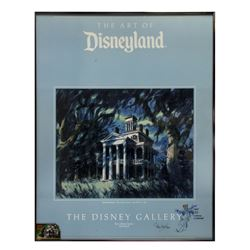 """Signed """"Haunted Mansion"""" Disney Gallery Poster."""
