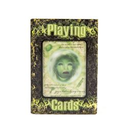 """""""Haunted Mansion"""" Glow in the Dark Playing Cards."""