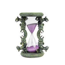 """Haunted Mansion"" Gargoyle Hourglass."
