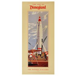 """The Art of Disneyland"" Disney Gallery Exhibit Poster."