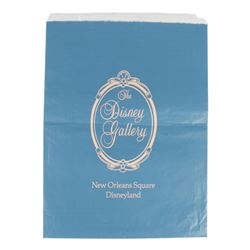 """The Disney Gallery"" Logo Shopping Bag."
