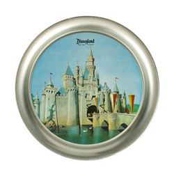 Sleeping Beauty Castle Aluminum Tray.