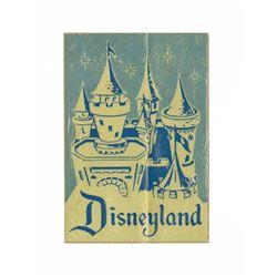 Unused Disneyland Castle Decal.