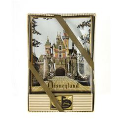 Sleeping Beauty Castle Disneyland Tray in Box.