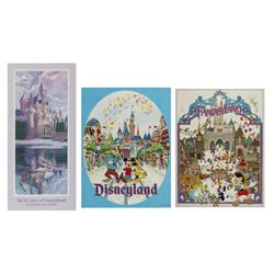Collection of (3) Sleeping Beauty Castle Posters.