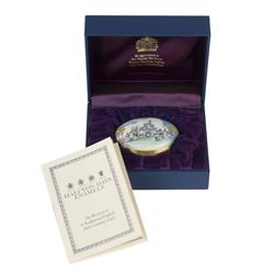 Limited Edition Sleeping Beauty Castle Trinket Box.