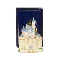 Sleeping Beauty Castle 2-Part Salt & Pepper Shaker.