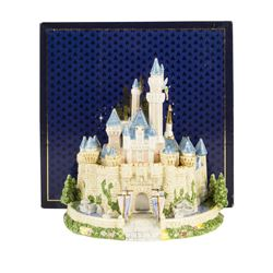 Sleeping Beauty Castle Porcelain Figurine.