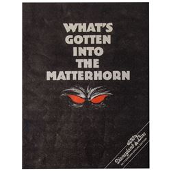 "The Disneyland Line ""Matterhorn Bobsleds"" Issue."
