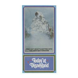 """""""Matterhorn Bobsleds"""" Gate Flyer."""