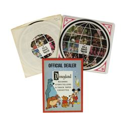 """Pair of """"It's a Small World"""" Souvenir Records."""