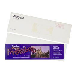 "Unused ""The New Fantasyland"" Commemorative Passport."