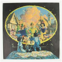 The New Fantasyland Signed Lithograph by Charles Boyer.