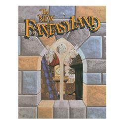 """The New Fantasyland"" Cast Member Book."