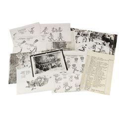 """Pinocchio's Daring Journey"" Film Art Reference Set."