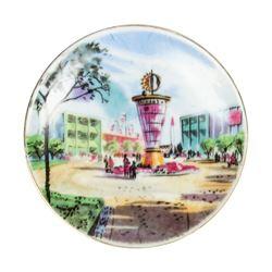 Tomorrowland Small Decorative Plate.