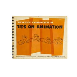 """Walt Disney's Tips on Animation"" Art Corner Book."