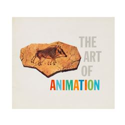 """""""The Art of Animation"""" Guidebook."""