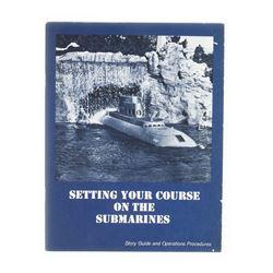 """Submarine Voyage"" Submarine Operator Guide."