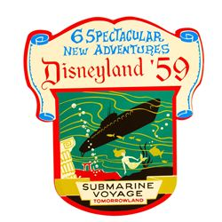 """Submarine Voyage"" Limited Edition Attraction Shield."