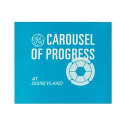 """Carousel of Progress at Disneyland"" Booklet."