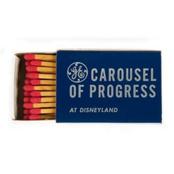 """Carousel of Progress"" VIP Matchbox."