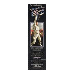 """Captain EO"" Premiere Party Unused Stock Ticket."
