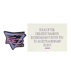 """Captain EO"" Premier Invitation & Patch."