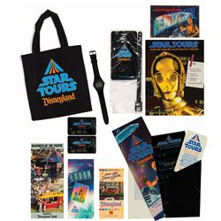 """Star Tours"" Grand Opening Press Gift Package."
