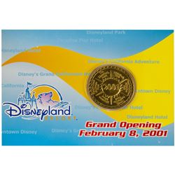 Disneyland Resort Grand Opening Coin.
