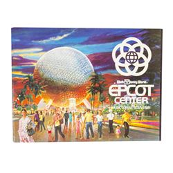 """EPCOT Center: A Pictorial Souvenir"" Guidebook."