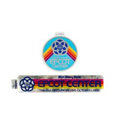 Pair of EPCOT Center Stickers.