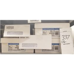 """NEW """"GOLDSTEINS"""" PRE PRINTED ENVELOPES APPROX COUNT 1500"""