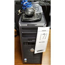 DELL OPTIPLEX GX620 DESKTOP COMPUTER/WINDOWS 10/KEYBOARD/CABLES
