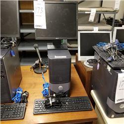 DELL OPTIPLEX 170L DESKTOP COMPUTER/ XP PROFESSIONAL/ACER FLAT MONITOR/KEYBOARD/CABLES
