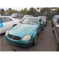1998 Mercedes-Benz SLK230
