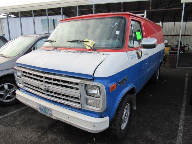 45d830bf6486b2 1991 Chevrolet G20 Van - Speeds Auto Auctions