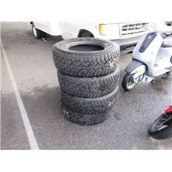 Studded Truck Tires 265/70/17
