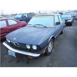 1983 BMW 528e