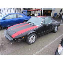 1985 Bertone X1/9