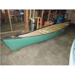 1995 Old Town Canoe 17 ft