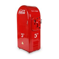 "Jacobs ""Mailbox"" Coca-Cola Machine"